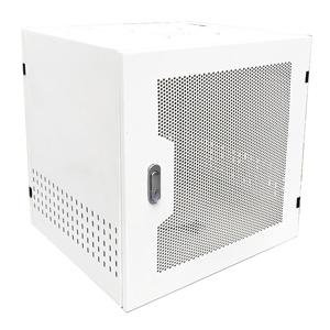 Tủ Rack 9U D500 Giá Rẻ, Cửa Lưới, Màu Trắng